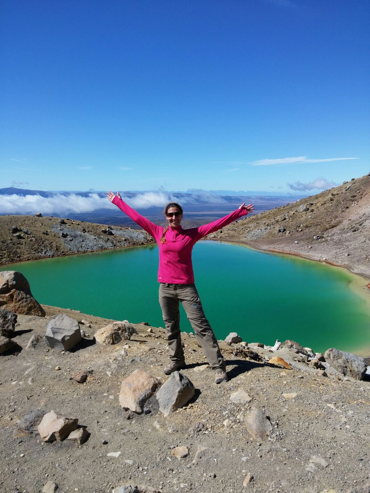 We are the heroes of our time, 1st time solo day-hike – Tongariro Crossing