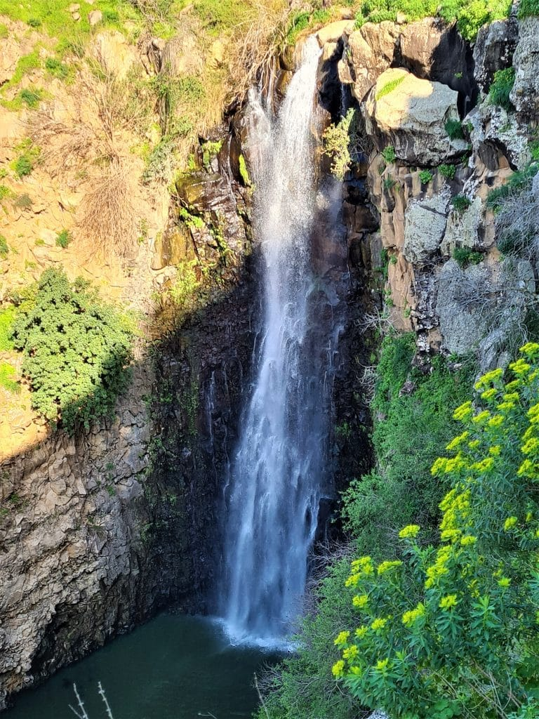 מפל הג'ילבון זורם כל השנה