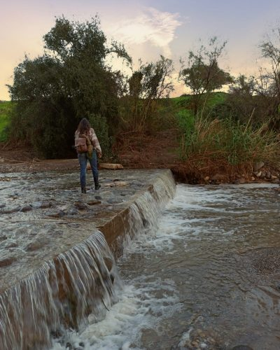 הכנת מסלול להדרכה בנחל תבור